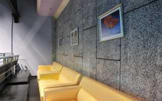 Звукопоглощающие панели для стен в квартире