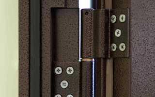 Как снять железную дверь с петель?