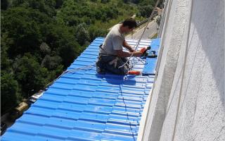 Гидроизоляция крыши балкона