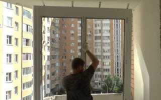 Остекление лоджии пластиковыми окнами своими руками