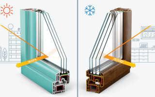 Маркировка энергосберегающих стеклопакетов