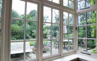 Английские окна для дачи