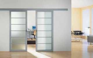 Как сделать раздвижные двери своими руками?