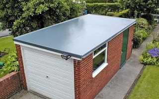 Течет крыша в гараже что делать
