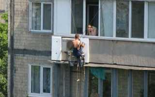 Утепление пола балкона пенополистиролом