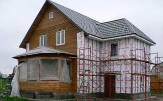 Парозащита стен каркасных домов