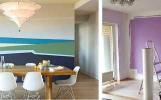 Что лучше покрасить стены или поклеить обои