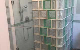 Как правильно уложить стеклоблоки?