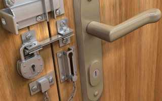 Как устроен замок межкомнатной двери?