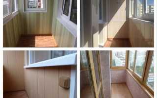 Как обшить балкон ПВХ панелями своими руками