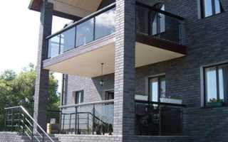 Пластиковые перила для балкона