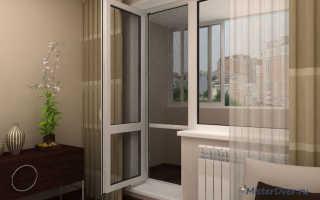 Как утеплить балконную дверь стеклопакет
