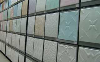 Размер потолочной плитки из пенопласта