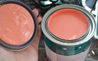 Как получить персиковый цвет краски для стен