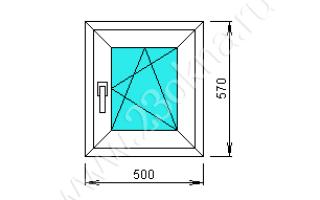 Готовые пластиковые окна двухкамерные для дачи