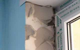 Как зашпаклевать откосы на окнах