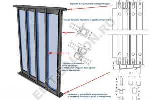 Раздвижные алюминиевые окна для балконов веранд беседок