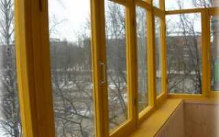 Самый простой способ остекления балкона своими руками