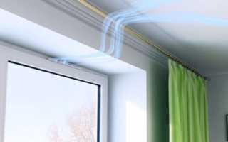 Клапан микропроветривания для пластиковых окон