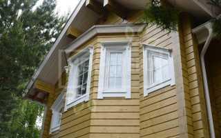 Установка наличников на окна в деревянном доме