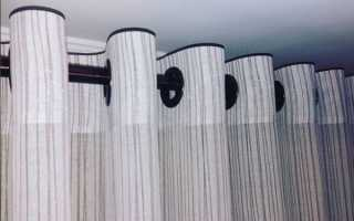 Как поставить люверсы на шторы своими руками?