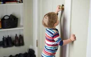 Как открыть комнатную дверь если она захлопнулась?