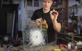 Как делают бронированные стекла?