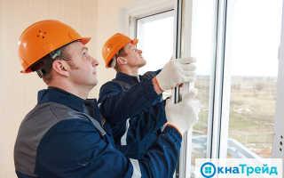 Установка пластиковых окон по ГОСТу инструкция