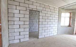Стоимость возведения стен из пеноблоков за м2