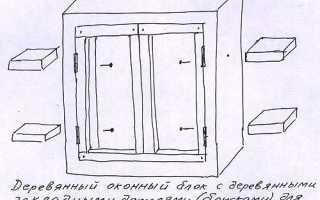 Как уменьшить оконный проем в кирпичной стене
