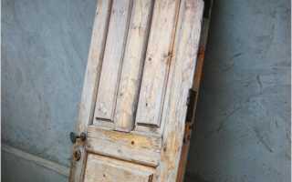 Чем можно оббить старую дверь