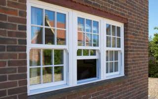 Английские окна конструкция