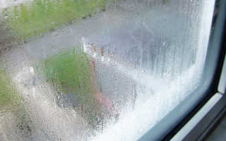 Сильно потеют пластиковые окна причины