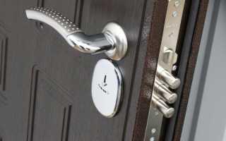 Как вынуть замок из металлической двери?