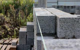Стены из керамзитобетонных блоков за и против