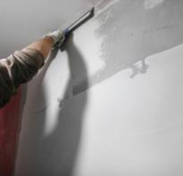 Как правильно наносить финишную шпаклевку на стены