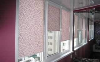 Как прикрепить рулонные шторы к пластиковому окну