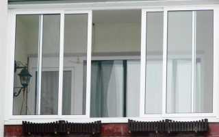 Сдвижные пластиковые окна для балкона