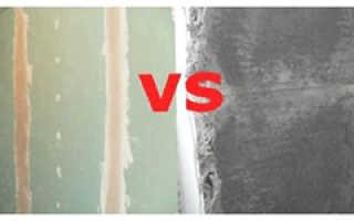 Что лучше штукатурить стены или обшить гипсокартоном