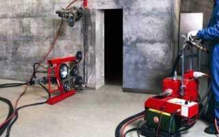 Как расширить дверной проем в бетонной стене