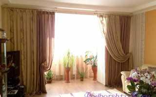 Как подобрать шторы к обоям в зале?