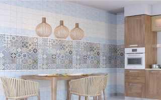 Плитка ПВХ для стен кухни