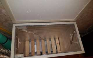 Термопогребок для балкона