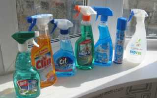 Как быстро вымыть окна
