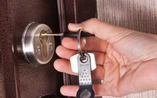 Как открыть сломанный дверной замок?