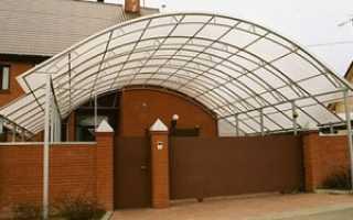 Как правильно положить поликарбонат на крышу