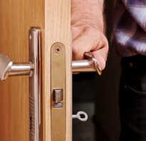 Как открыть дверь если она захлопнулась изнутри?