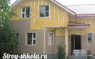 Как правильно утеплить стены деревянного дома снаружи