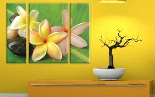 Как закрепить картину на стене без сверления