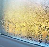 Как устранить конденсат на пластиковых окнах